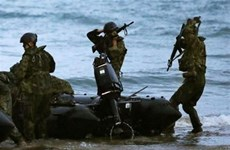 Nhật Bản và Mỹ diễn trận giải cứu chung mang tên Keen Sword