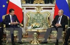 Thủ tướng Italy mong muốn duy trì tiếp xúc với Tổng thống Nga