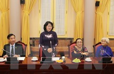 Phó Chủ tịch nước tiếp nữ đại biểu Quốc hội, cán bộ hưu trí Cần Thơ