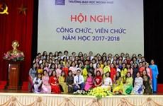 Kỷ niệm 60 năm thành lập Khoa Anh văn thuộc Đại học Quốc gia Hà Nội