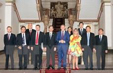 Lãnh đạo TP. Hồ Chí Minh tiếp Thủ hiến Vùng lãnh thổ Bắc Australia