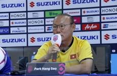 Huấn luyện viên Park Hang-seo: Myanmar là đối thủ khó chơi