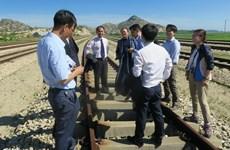 Bắt đầu khảo sát chung đường sắt liên Triều vào cuối tuần này