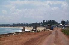 Tỉnh Bình Định kết luận nguyên nhân gây sập kè bờ biển Tam Quan