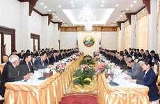Lào và Campuchia tăng cường hợp tác trong nhiều lĩnh vực