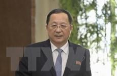 Ngoại trưởng Triều Tiên Ri Yong-ho tới thủ đô Trung Quốc