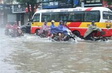 Kiểm tra công tác khắc phục ngập úng do mưa lớn tại thành phố Vinh