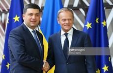 Thủ tướng Ukraine thảo luận với Hội đồng châu Âu về tình hình Azov