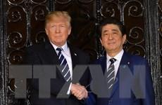 Lãnh đạo Nhật-Mỹ sắp thảo luận vấn đề thương mại, Triều Tiên