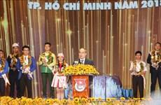 Vinh danh 9 công dân trẻ tiêu biểu của Thành phố Hồ Chí Minh