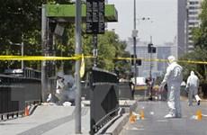 Nổ tại bến xe buýt ở thủ đô Santiago de Chile, 5 người bị thương
