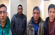 Khởi tố đường dây lưu hành tiền giả, cướp giật tài sản ở Hà Nội