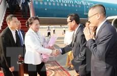 Chủ tịch Quốc hội Nguyễn Thị Kim Ngân tới Siem Reap tham dự APPF-27
