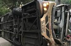 Hong Kong: Tai nạn xe buýt nghiêm trọng khiến 17 người thương vong