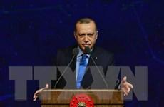 Tổng thống Erdogan: Mỹ không hoãn rút quân do vụ khủng bố ở Manbij