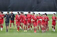 Asian Cup 2019: Tuyển Việt Nam tích cực chuẩn bị cho trận gặp Jordan