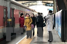Đoàn nghệ thuật Triều Tiên lưu diễn tại thủ đô Bắc Kinh