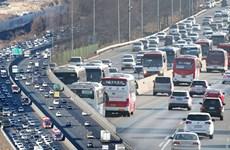 Hàn Quốc dự báo gần 49 triệu lượt người di chuyển dịp Tết Nguyên Đán