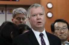 Đặc phái viên Mỹ về Triều Tiên tới Seoul sau chuyến thăm Bình Nhưỡng