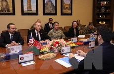 Mỹ và Afghanistan nhất trí thúc đẩy tiến trình hòa bình