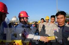 Nhà máy lọc dầu Dung Quất đạt mốc 20 triệu giờ công an toàn