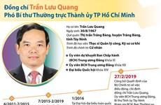 Ông Trần Lưu Quang giữ chức Phó Bí thư Thường trực Thành ủy TP.HCM