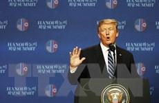 Tổng thống Mỹ khẳng định đối thoại với Chủ tịch Kim mang tính xây dựng