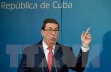 Cuba phản đối động thái siết chặt cấm vận của Chính phủ Mỹ