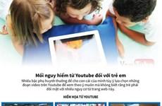 Trẻ em phải đối mặt với nhiều mối nguy hiểm từ Youtube
