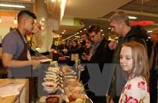 Sôi động Lễ hội Ẩm thực đường phố Việt Nam tại Moskva