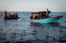 Người di cư bắt cóc một tàu chở hàng ở Địa Trung Hải