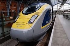 Dịch vụ tàu cao tốc tại Anh bị đình trệ vì sự cố hy hữu
