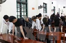 Hưng Yên triệt phá tụ điểm gần 70 đối tượng sử dụng chất ma túy