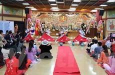 Phật tử Việt Nam ở Hàn Quốc hướng về đất nước và biển đảo quê hương