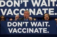 New York quy định không tiêm vắcxin phòng sởi bị phạt 1.000 USD