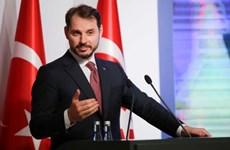 Bộ trưởng Tài chính Thổ Nhĩ Kỳ gặp các thể chế tài chính quốc tế