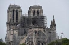 Không phát hiện bằng chứng cháy Nhà thờ Đức Bà Paris là hành động cố ý