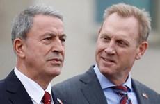 Bộ trưởng Quốc phòng Thổ Nhĩ Kỳ thảo luận với giới chức Mỹ