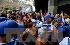 Hội Chữ Thập Đỏ tiến hành phân phối viện trợ nhân đạo tại Venezuela