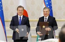Hàn Quốc-Uzbekistan nâng cấp quan hệ lên đối tác chiến lược đặc biệt