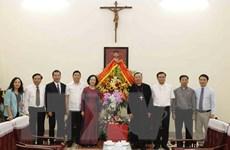Trưởng ban Dân vận Trung ương chúc mừng Tòa Tổng giám mục Hà Nội