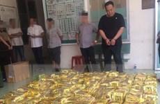 Khen thưởng tập thể triệt phá vụ mua bán, vận chuyển 1,1 tấn ma túy