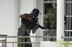 Cảnh sát thông tin về kẻ đánh bom liều chết ở khách sạn tại Sri Lanka