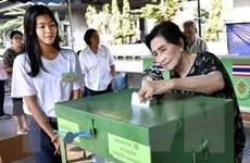 Sáu địa điểm thuộc 5 tỉnh của Thái Lan phải bỏ phiếu lại