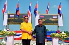 Thái Lan và Campuchia mở lại tuyến đường sắt nối hai nước