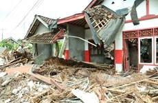 Indonesia lại rung chuyển do một trận động đất mạnh 5,8 độ