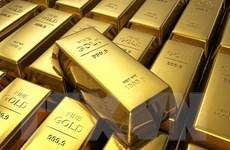 """Giá vàng thế giới """"vọt"""" lên mức cao nhất hơn một tuần qua"""
