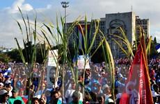 Gần 6 triệu người ở Cuba tuần hành kỷ niệm ngày Quốc tế lao động