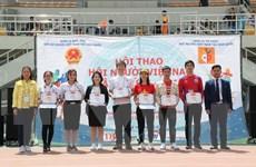 Tưng bừng hội thao của cộng đồng người Việt tại Hàn Quốc