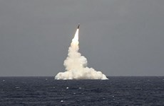 Mỹ tiết lộ về vụ phóng thử tên lửa đạn đạo mới từ tàu ngầm
